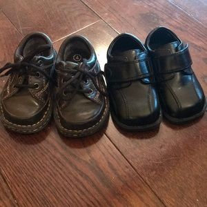 Lot of two toddler size 4c dress shoes